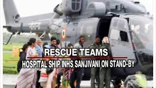 Kerala Floods: Navy's launched 'operation madad' to rescue and relief - NEWSXLIVE
