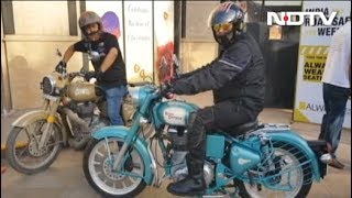 Over 100 Motorcyclists Ride 40 Km To Spread Awareness On Road Safety In Delhi - NDTV