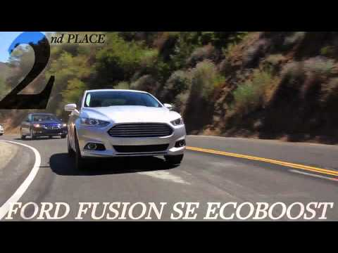 2013 Ford Fusion vs 2013 Honda Accord CAR and DRIVER.wmv