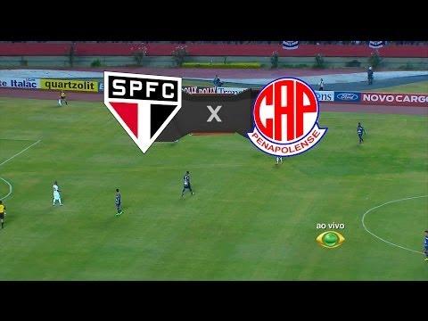 Pênaltis - São Paulo 0 (4) x (5) 0 Penapolense - Paulistão 2014 - 26/03/2014