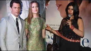 Hollywood Stars Sizzles With Ekta Kapoor At 'Best of Me' India Premiere - THECINECURRY