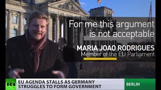 EU cannot move without stable German govt – CDU member - RUSSIATODAY