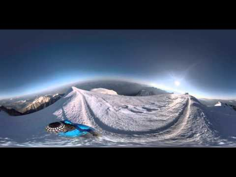 Mont Blanc Street View - 360