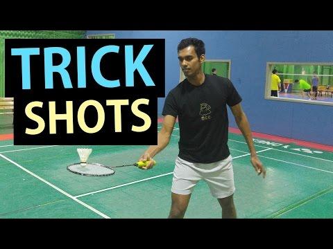 Badminton Life Funny Trick Shots Hacks