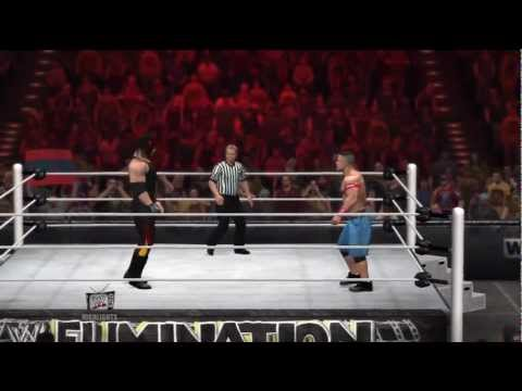WWE Elimination Chamber 2012 - John Cena vs Kane - Ambulance Match