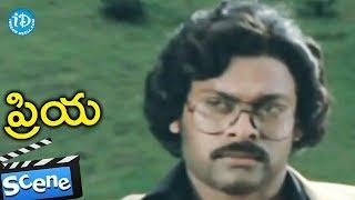 Priya Movie Scenes - Chiranjeevi Shares About His Love With Radhika    Chiranjeevi - IDREAMMOVIES