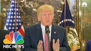 President Donald Trump on Confidence in Steve Bannon: 'We'll See What Happens' | NBC News - NBCNEWS