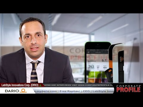 Company Overview w/ LabStyle Innovations CEO Erez Raphael - (DRIO)