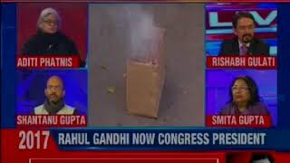 More visuals from Congress HQ, Congress leaders arriving ahead of RaGa takeover as Cong President - NEWSXLIVE