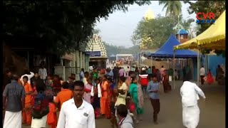 Huge Crowd of Devotees At Srisailam Bhramaramba Mallikarjuna Swamy Temple | CVR News - CVRNEWSOFFICIAL
