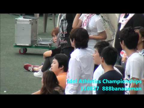 [fancam] 110827 Idol Athletics Championships Super Junior  Forcus Heechul
