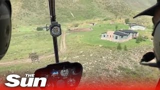 What a helicopter crash looks like from inside - THESUNNEWSPAPER