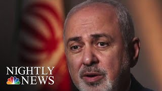 Starting War With Iran Would Be 'Suicidal,' Iran's Foreign Minister Says | NBC Nightly News - NBCNEWS