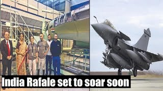 #RafaleSetToSoar: 1st made for India Rafale set to take off soon - NEWSXLIVE