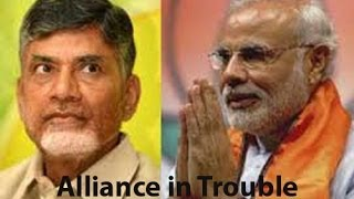 Seemandhra : End of BJP-TDP alliance? - TV5NEWSCHANNEL