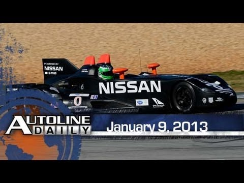 The Aerodynamic Secret Behind Nissan's DeltaWing - Autoline Daily 1045
