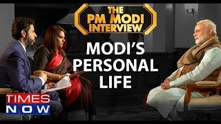 PM Modi On Handling Comments Made On His Personal Life By The Netas I PM Modi Interview - TIMESNOWONLINE