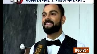 Exclusive: Virat Kohli says walking the ramp makes him nervous - INDIATV