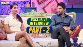 Exclusive Interview With Allu Arjun & Pooja Hegde | Part-02  | Aditya Music | DSP | Harish Shankar - ADITYAMUSIC