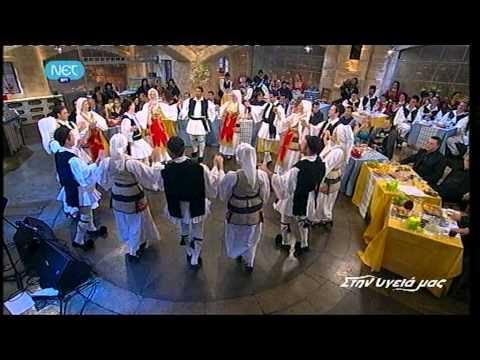 Σταυρούλα Δαλιάνη - Στην υγειά μας - NET 19/3/2011