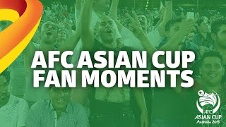 الجماهير في مدرجات كأس الأمم الآسيوية