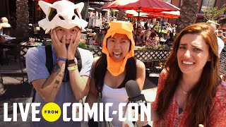 Live From Comic-Con | Syfy At The Con: Squee! | Syfy - SYFY