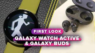 Samsung Galaxy Watch Active, Galaxy Buds and Fit: First impressions - CNETTV