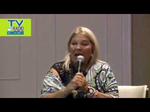 TVRadioMiami - Presentacion de la Diputada Lilita Carrio en Miami