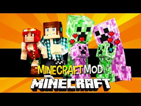 Minecraft: Creeper Namorada ( Creeper Mulher, Bebês Creepers) !! - Female Creepers Mod