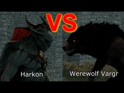 Skyrim Battle - Requested Battles! Werewolves vs Vampires & more!