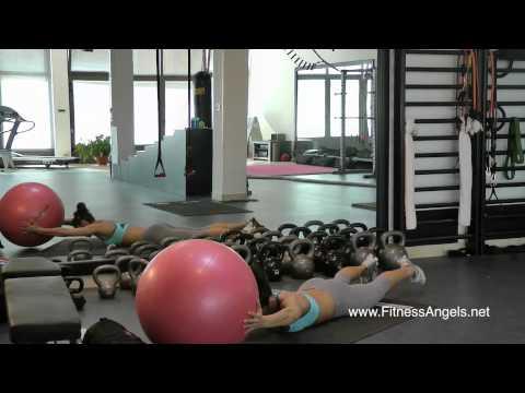 Srednje teški trening bez pauze sa miješanom opremom: rutina 2