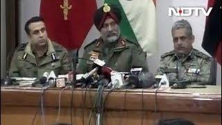 पुलवामा हमले पर सेना बोली- 100 घंटे के भीतर घाटी में जैश का खात्मा - NDTVINDIA