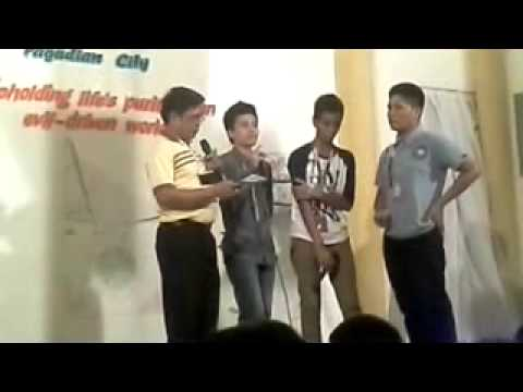 Pagadian Gospel Meeting 2014 quartet (Zamboanga City Male)