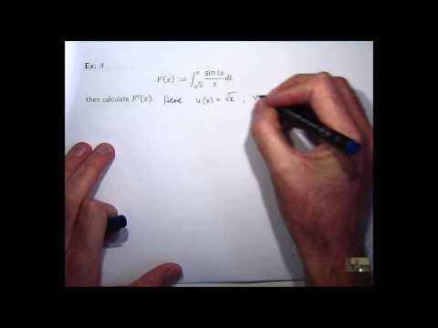 Differentiation under integral signs: Leibniz rule