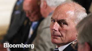 Can John Kelly Bring Order to Trump's White House? - BLOOMBERG