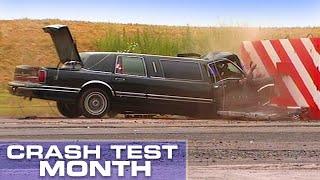 Crash Test Month: Stretch Limousine Crash