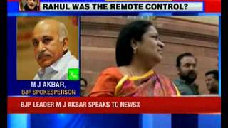 BJP says Congress should reply to Jayanthi Natarajan's charges - NEWSXLIVE