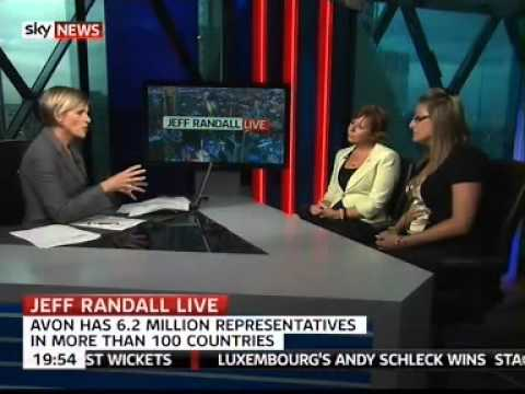 Avon Sales Leader on Sky News with Anna Jones on the Jeff Randell show.  Gail Reynolds.flv