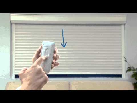 Somfy wirefree rts tilt vidoemo emotional video unity - Programmation volet somfy ...
