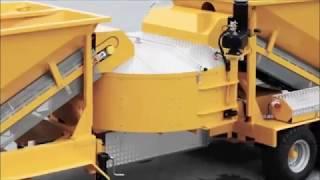 Мобильный бетонный завод sumab m-2200