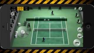 Обзор игры Stickman Tennis (пилотный)