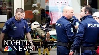 Finland Stabbing Leaves Two Dead, Six Wounded   NBC Nightly News - NBCNEWS