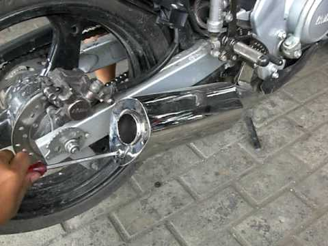 DUAL SOUND MUFFLER ON YAMAHA VIXION/FZ150 ORDER CALL 087882074088