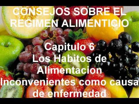 Capitulo 6. Los Habitos de Alimentacion Inconvenientes como causa de enfermedad.