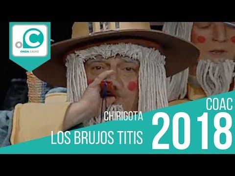 Sesión de Preliminares, la agrupación Los brujos titis actúa hoy en la modalidad de Chirigotas.