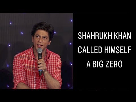 SHOCKING! Shahrukh Khan: I AM a BIG ZERO! | Zero official trailer launch | Bollywood news &