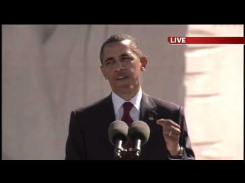 MLK dedication Speech Barack Obama