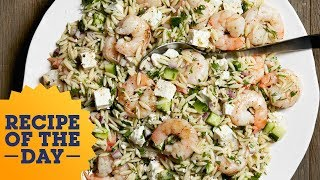 Recipe of the Day: Ina's Roasted Shrimp and Orzo | Food Network - FOODNETWORKTV