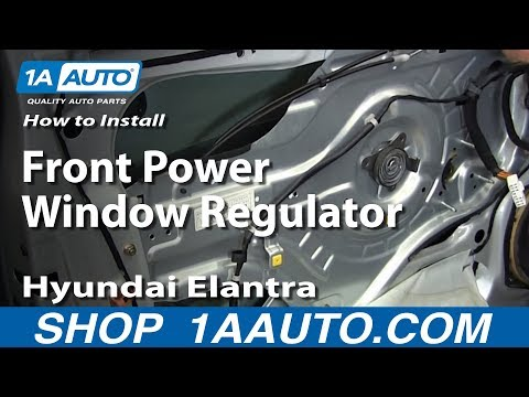How to Install Replace Front Power Window