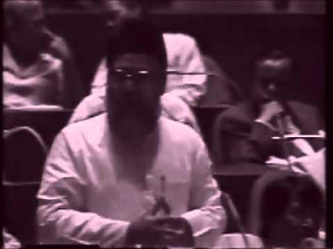 Mawlana Motiur Rahman Nizami in Parliament[Sub] (1991)